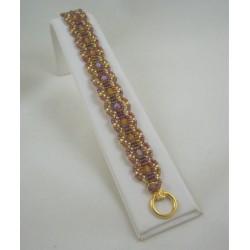 Infinity Bracelet kit Gold/Topaz