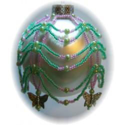 Mariposa Ornament Cover Kit Green/Purple