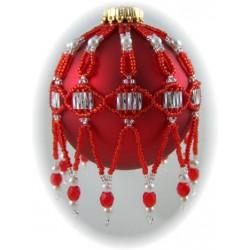 Matrix Ornament Cover Kit Red/Silver