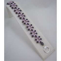 La Fleur Bracelet Kit Purple