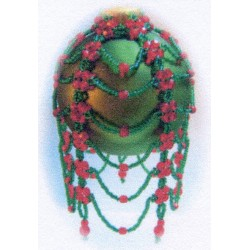 Victoria Ornament Cover Kit Red/Green