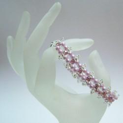 Trinity Bracelet Kit Lilac/Silver