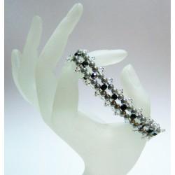 Trinity Bracelet Kit Black/ Silver