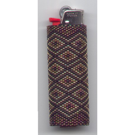 Diamond Lighter Cover Pattern