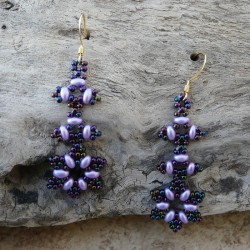 Rambling Star Earring Pattern