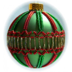 Christmas Jewels Ornament Cover Pattern