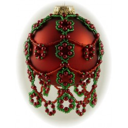 Christmas Berries Ornament Cover Kit Red/Green