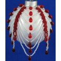 Candy Cane Drops Ornament Cover Kit Red