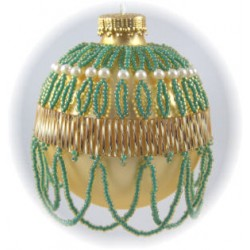 Belle of the Ball Ornament Cover Kit Gold/Green
