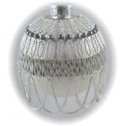Belle of the Ball Ornament Cover Kit Silver