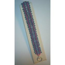 Cross Roads Bracelet Kit Blue/Pink