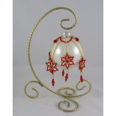 Flora Ornament Cover Kit Red/Gold