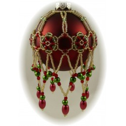 Glimmer Ornament Cover Kit Red, Green & Gold