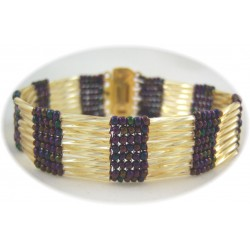 Harmony Bracelet Kit Plum/Gold